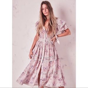 LoveShackFancy Claribel Dress